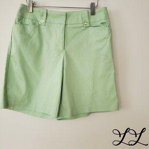 Denver Hayes Shorts Light Green Neon Pastel Cotton
